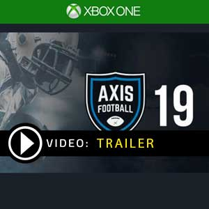Axis Football 2019 Xbox One Prices Digital or Box Edition