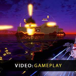 Azur Lane Crosswave Gameplay Video