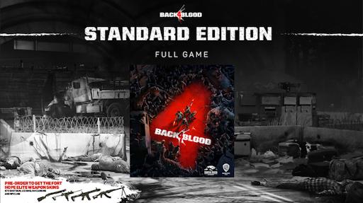 buy back 4 blood standard edition cd key