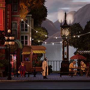 Backbone City Street