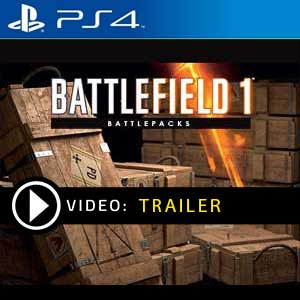 Battlefield 1 Battlepack PS4 Prices Digital or Box Edition