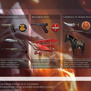 Battlefield 1 Deluxe Edition Upgrade DLC - Contents