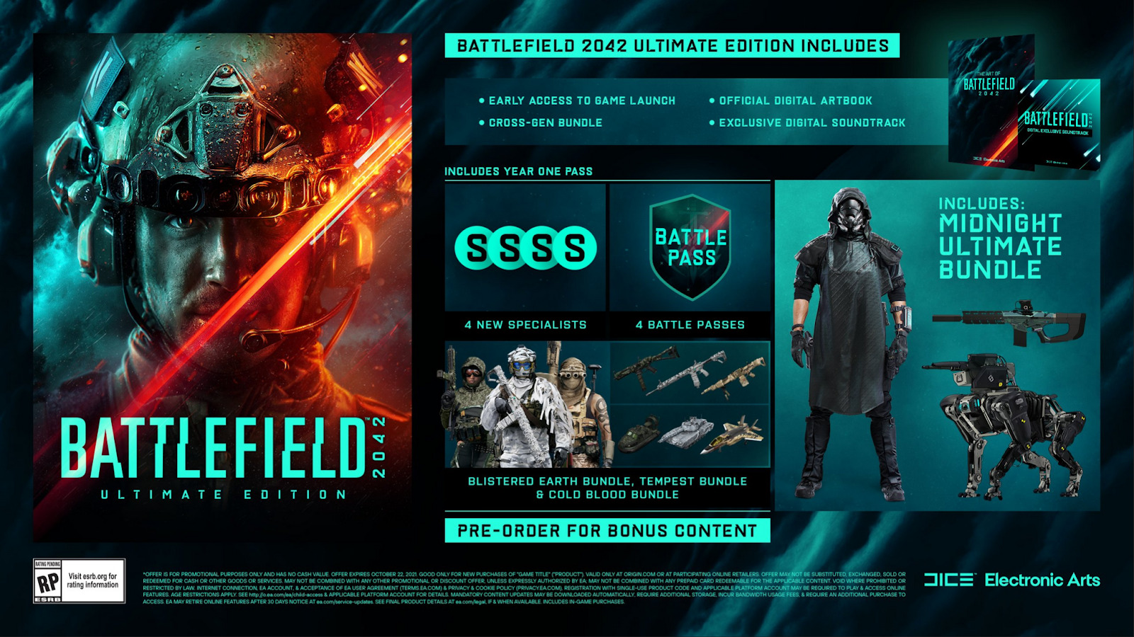 Compare Battlefield 2042 Ultimate Edition Prices Online