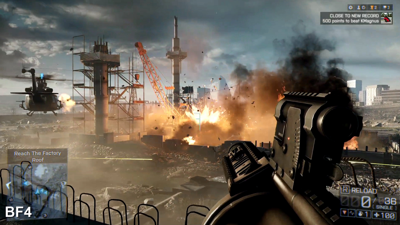 What is Battlefield 4 about?