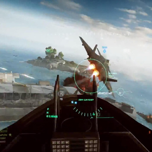 Battlefield 4 Aerial Gameplay Screenshot
