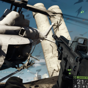 Battlefield 4 XBox One Aerial Battle