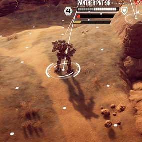 BattleMechs Turned based combat