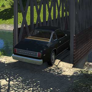Passing the bridge in BeamNG drive