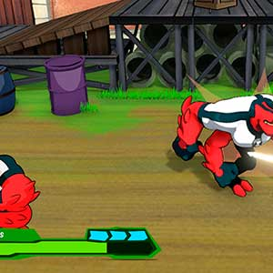 Knockout enemies as four arms