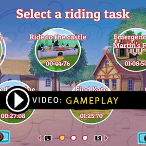 Bibi & Tina at the horse farm Gameplay Video