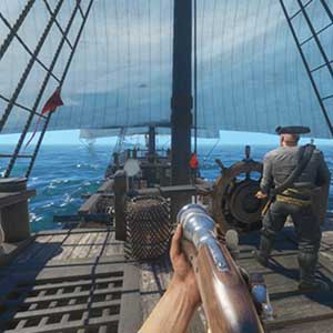 Fire cannons, sink ships or board them with FPS combat