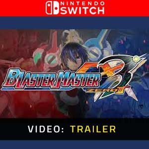 Blaster Master Zero 3 Nintendo Switch Video Trailer