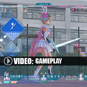 Blue Reflection Gameplay Video