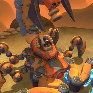 Powerful scorpion robot