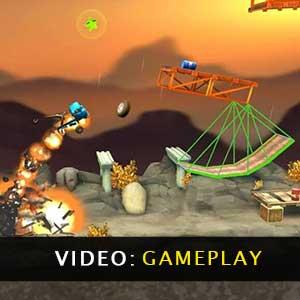 Bridge Constructor Stunts Gameplay Video
