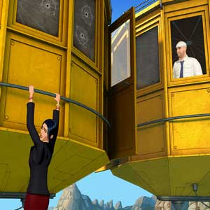 Broken Sword 5 The Serpents Curse PS4 Montserrat Cable Car