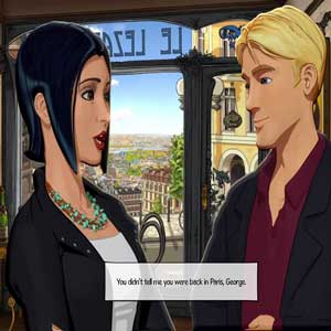Broken Sword 5 The Serpents Curse PS4 George and Nico