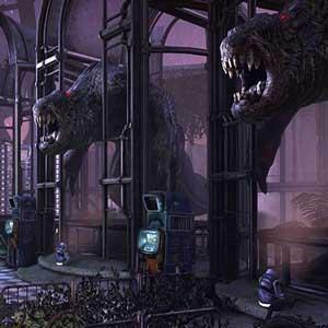 Abandoned resort planet