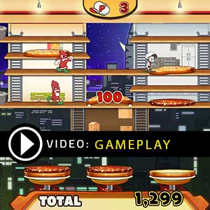 BurgerTime Party Gameplay Video