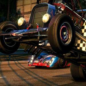 High-octane stunts and destruction