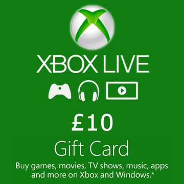 Buy 10 GPB Gift Card Xbox Live Code Compare Prices
