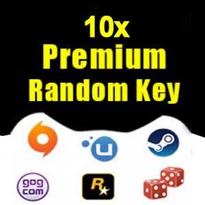 10 Premium Random Keys