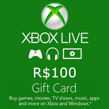 Buy 100 BRL Gift Card Xbox Live Code Compare Prices