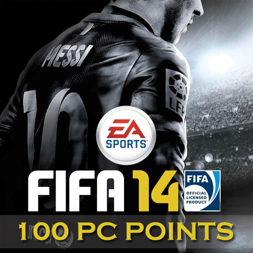 100 Fifa 14 PC Points Gamecard
