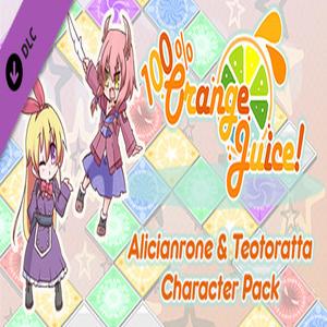 100% Orange Juice Alicianrone and Teotoratta Character Pack
