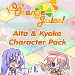 Buy 100% Orange Juice Alte & Kyoko Character Pack CD Key Compare Prices