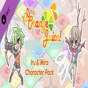 100% Orange Juice Iru & Mira Character Pack