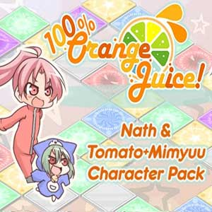 100% Orange Juice Nath & Tomato+Mimyuu Character Pack