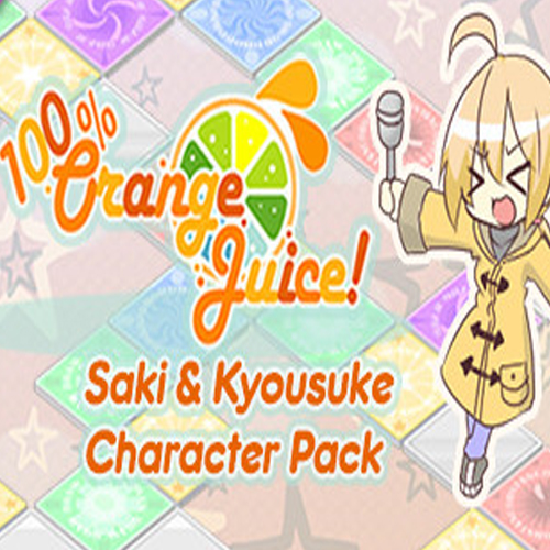 100% Orange Juice Saki & Kyousuke Character Pack