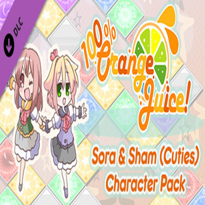 100% Orange Juice Sora and Sham Cuties Character Pack