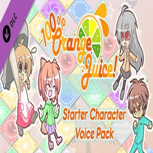 100% Orange Juice Starter Character Voice Pack