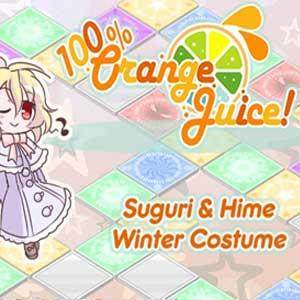 100% Orange Juice Suguri & Hime Winter Costumes