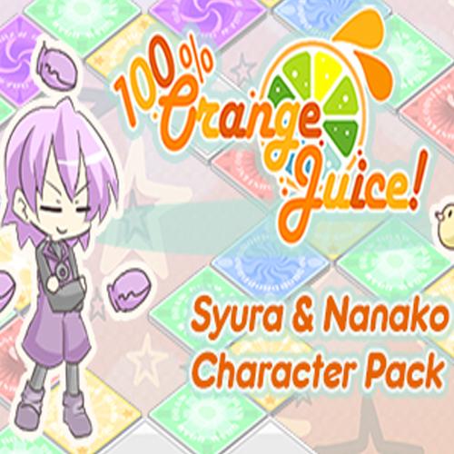 100% Orange Juice Syura & Nanako Character Pack
