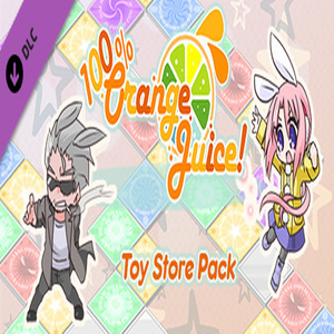 100% Orange Juice Toy Store Pack