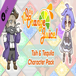 100% Orange Juice Tsih and Tequila Character Pack