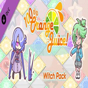 100% Orange Juice Witch Pack