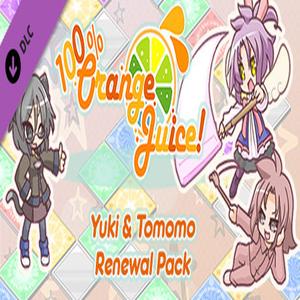 100% Orange Juice Yuki and Tomomo Renewal Pack