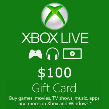 Buy 100 USD Gift Card Xbox Live Code Compare Prices