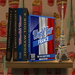 1001 Jigsaw World Tour France