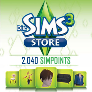 Buy 2040 SIMPOINTS GameCard Code Compare Prices