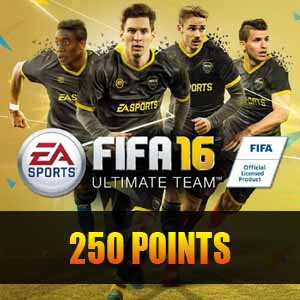 Buy 250 FIFA 16 Points GameCard Code Compare Prices