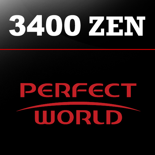 Buy 3400 Perfect World ZEN GameCard Code Compare Prices