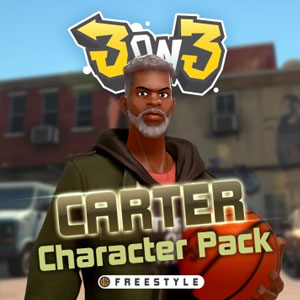 3on3 FreeStyle Carter Character Pack