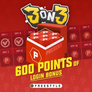 3on3 FreeStyle Login Bonus Points