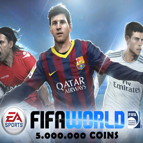 Buy 5.000.000 FIFA World Coins GameCard Code Compare Prices