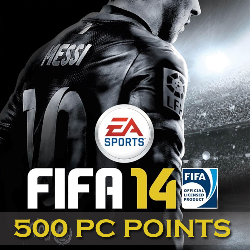 500 Fifa 14 PC Points Gamecard